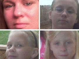 Four members of Crestwood family missing, say police
