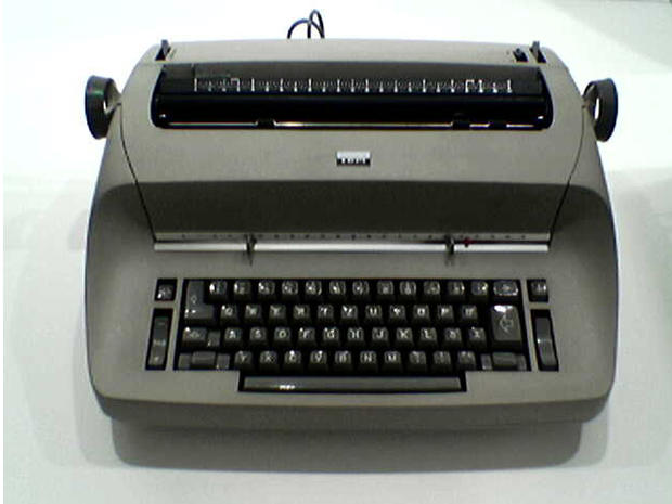 Remembering the typewriter