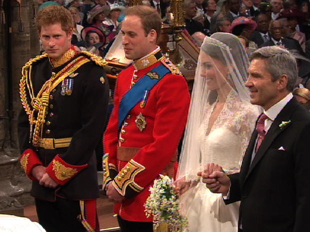 Prince William And Kate Middleton Most Expensive Weddings Of All Time Pictures Cbs News