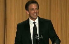 Seth Meyers kills it at White House Correspondents' dinner