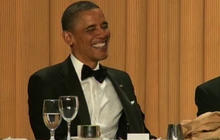 Obama laughs off Osama bin Laden joke