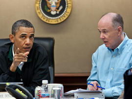 President Obama in the Situation Room