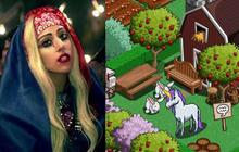 FarmVille goes Gaga