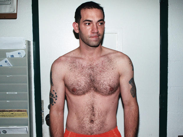 Michael Gargiulo under arrest