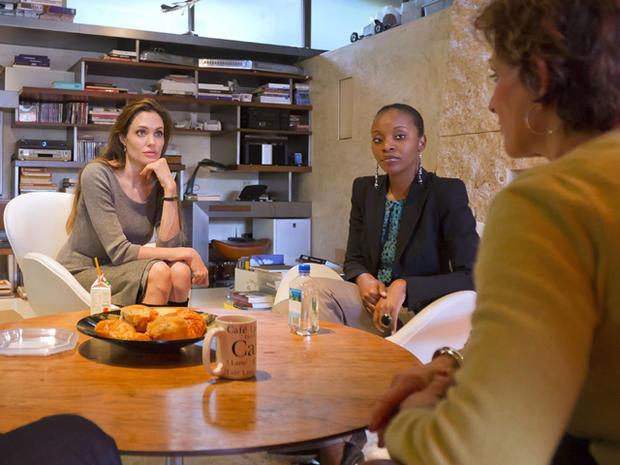 Angelina Jolie and SOS Children's Villages