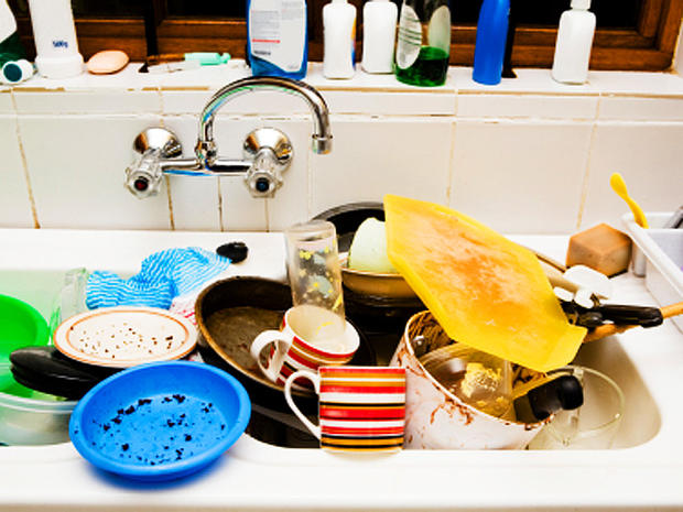 2. Kitchen sinks - Yuck! Top 10 germiest spots in your home ...