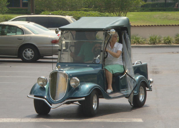 Extreme golf carts