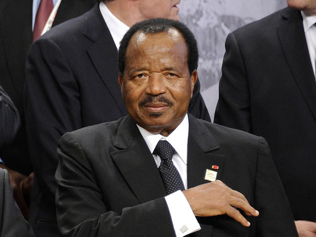 Paul Biya of Cameroon