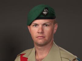 Sgt. Brett Wood of Australia