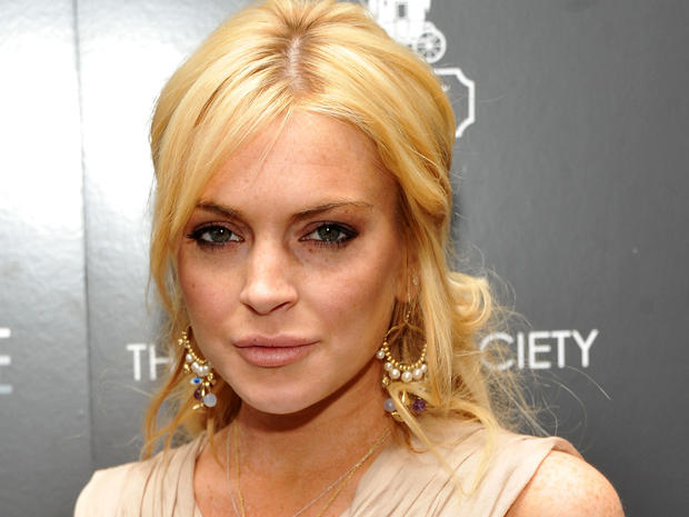 """Lindsay Lohan at the Cinema Society & Coach screening of """"Source Code""""  on March 31, 2011, in New York."""