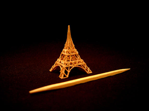 Extreme toothpick art will blow your mind