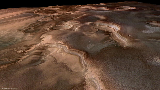 Springtime on Mars