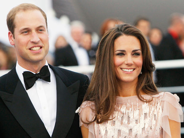William and Kate's gala date night