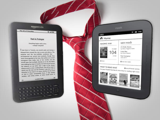 Kindle or Nook: Which e-reader is right for Father's day?