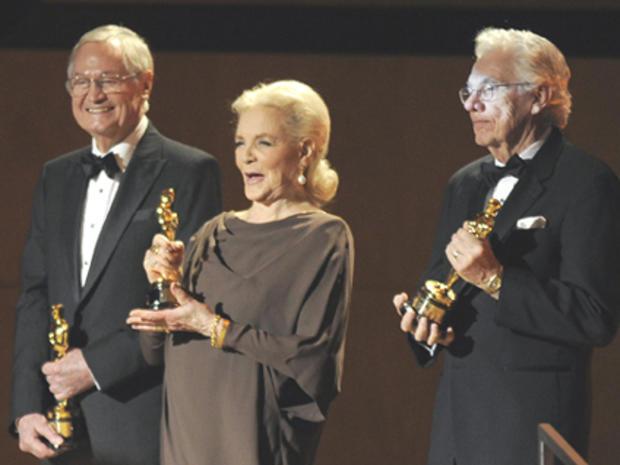 Roger Corman, Lauren Bacall and Gordon Willis