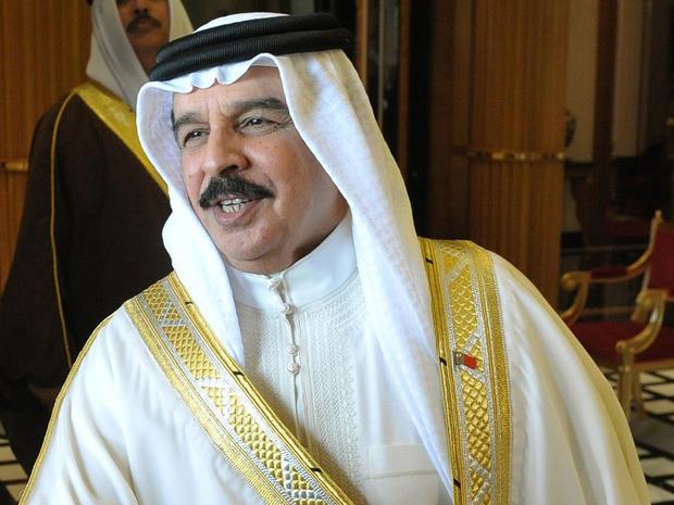 Hamad bin Isa al-Khalifa, king of Bahrain