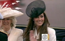 Will & Kate's first big event