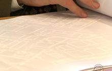 Blind architect develops brail blueprints