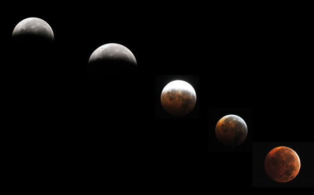 Lunar eclipses in all their glory