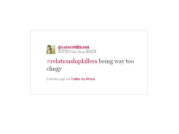 Psychologists analyze the most-tweeted-about relationship killers