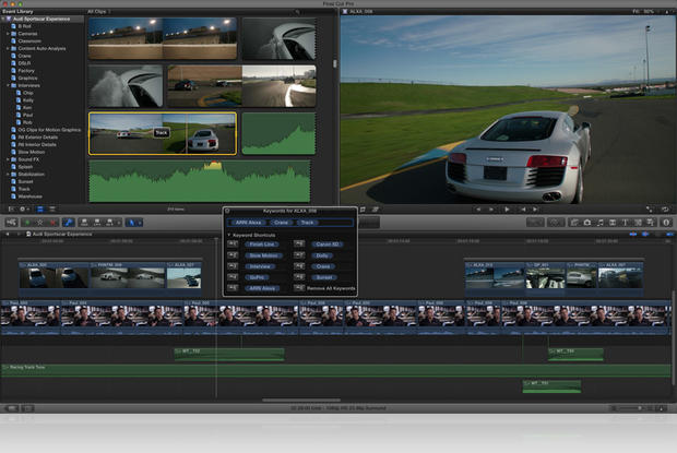 Final Cut Pro X makes debut on Mac App Store