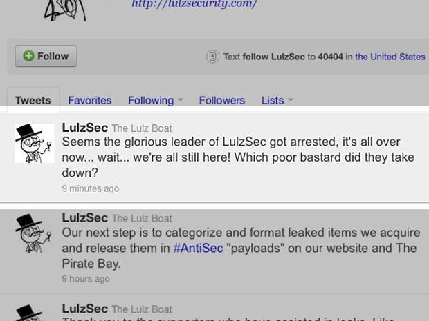 UK police make arrest in LulzSec hacking attacks