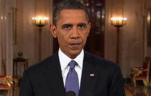 Obama: Starting drawdown from position of strength