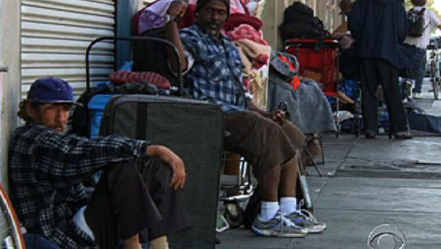 Los Angeles is the homeless veteran capital of the U.S. with more than 8,000 on city streets.