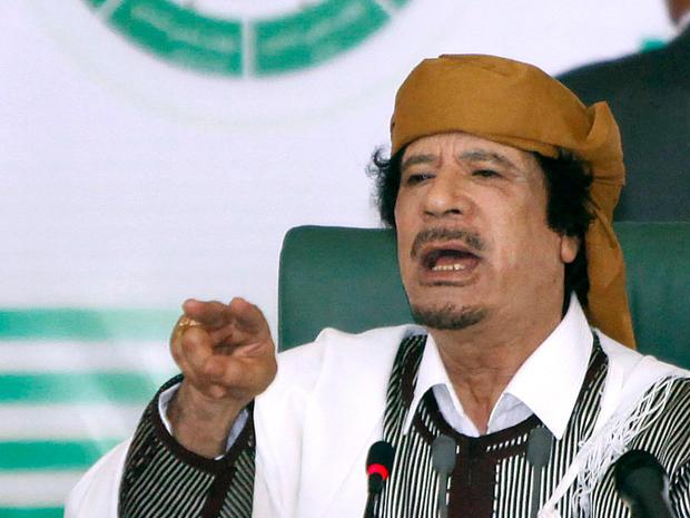 ICC issues arrest warrant for Qaddafi