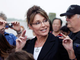 "Palin in Iowa for ""The Undefeated"" debut"