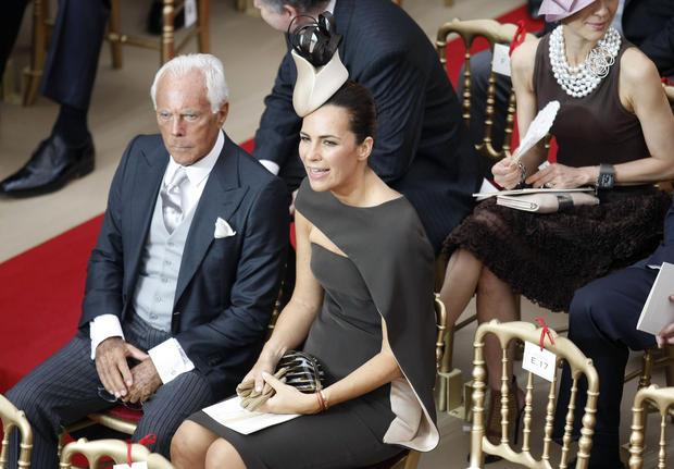 Wedding guests in Monaco