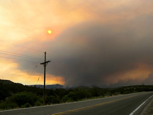 The Los Alamos fire