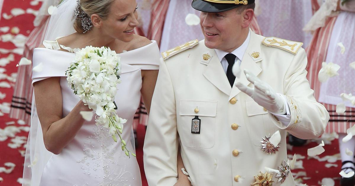 Princess Charlene, Prince Albert II exchange vows in Monaco - CBS News