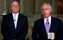 Durbin, Corker on debt ceiling deadlock in Senate