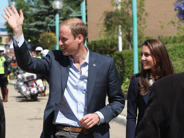 William and Kate in Alberta