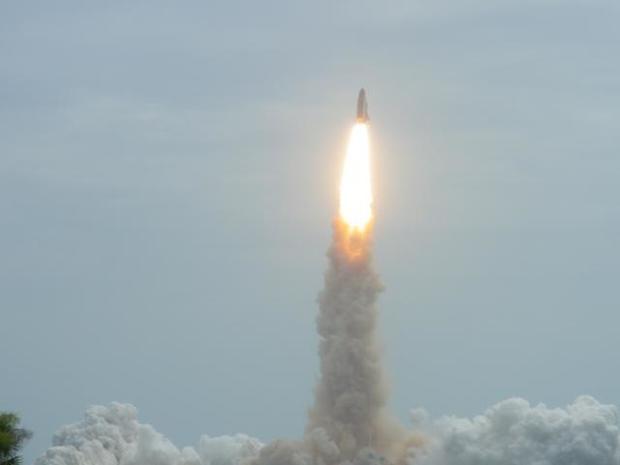 Shuttle Atlantis' Final Liftoff