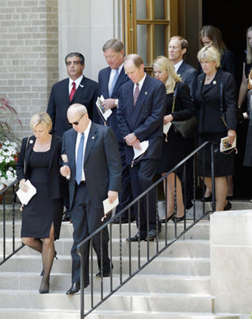 Betty Ford S Funeral Photo 1 Pictures Cbs News