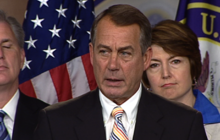 "Boehner: GOP ""cap, cut & balance"" plan is what Obama's looking for"