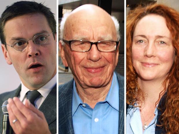 James Murdoch, Rupert Murdoch, Rebekah Brooks