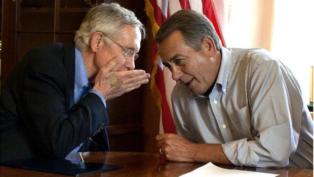 Harry Reid and John Boehner