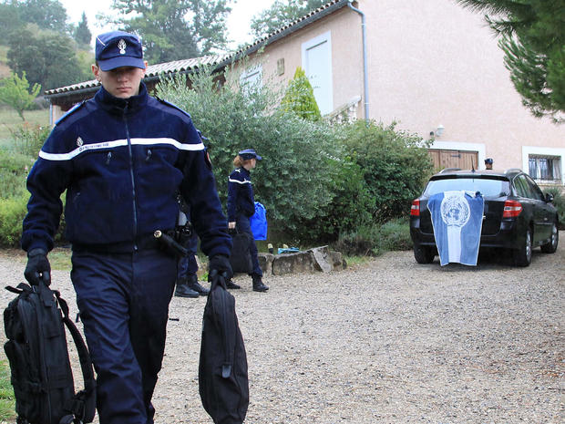 Police search home of Jens Breivik in southern France