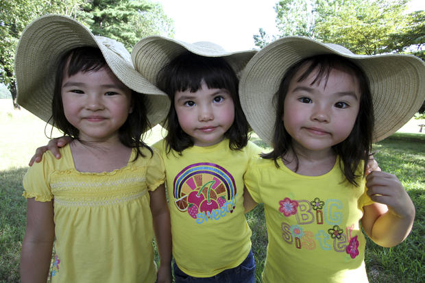 Triplets: Growing up in a set