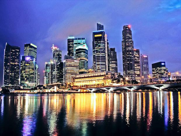 singapore, asia, skyline