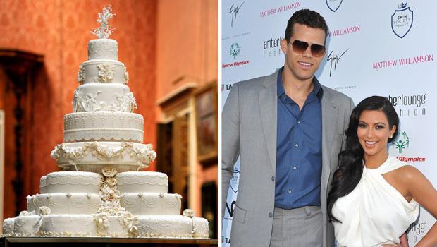 Kim Kardashian recreating Will and Kates royal wedding cake CBS
