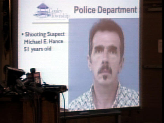 Police identified the shooter in an Ohio shooting rampage as Michael Hance, 51, Aug. 8, 2011.