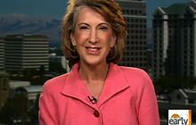 Carly Fiorina discusses how gov't. can help business