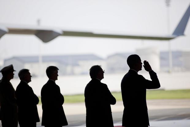 President Obama at Dover Air Force Base