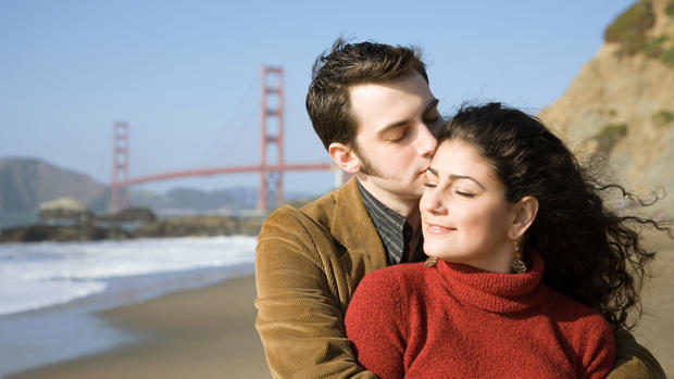 Top 10 cities with the most romantic men