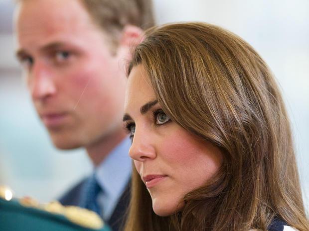 William, Kate visit riot-hit city