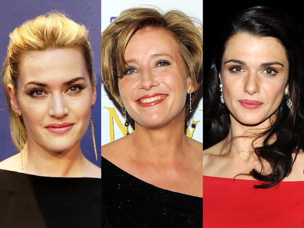 Kate Winslet, Emma Thompson, Rachel Weisz